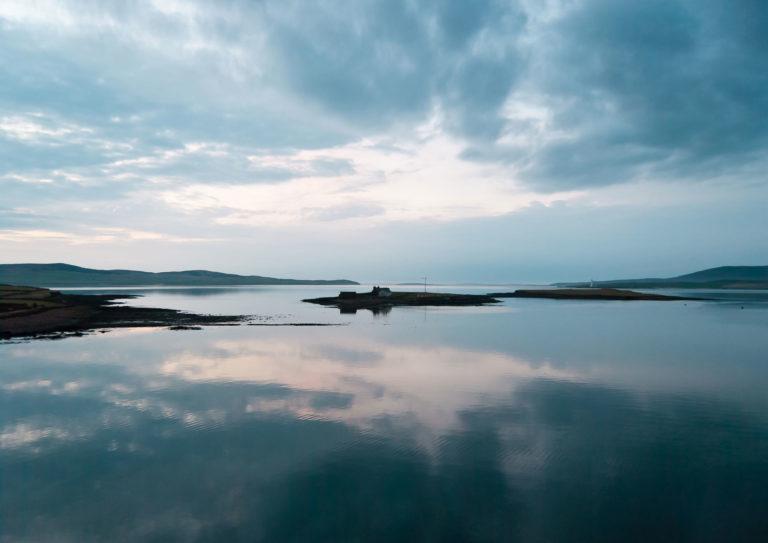 Scapa Flow im Morgenlicht